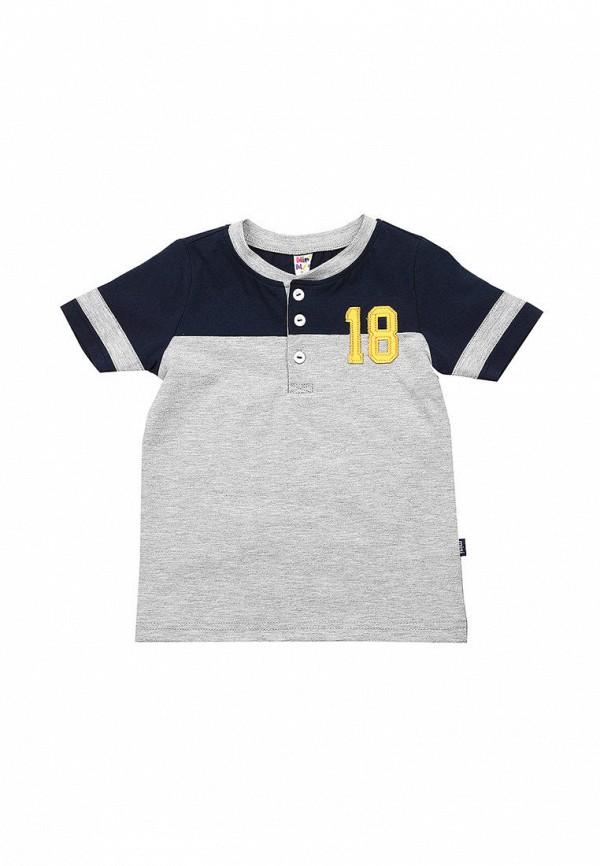 футболка с коротким рукавом mini maxi для мальчика, серая