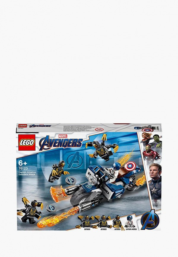 Конструктор Marvel Super Heroes LEGO LEGO MP002XB00CND конструктор lego super heroes mighty micros росомаха против магнето 76073