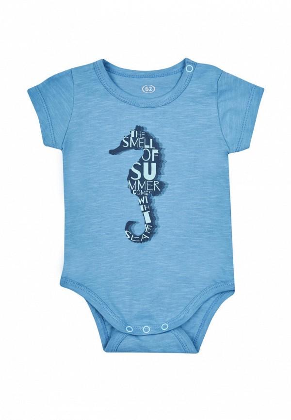боди фламинго текстиль для мальчика, синие