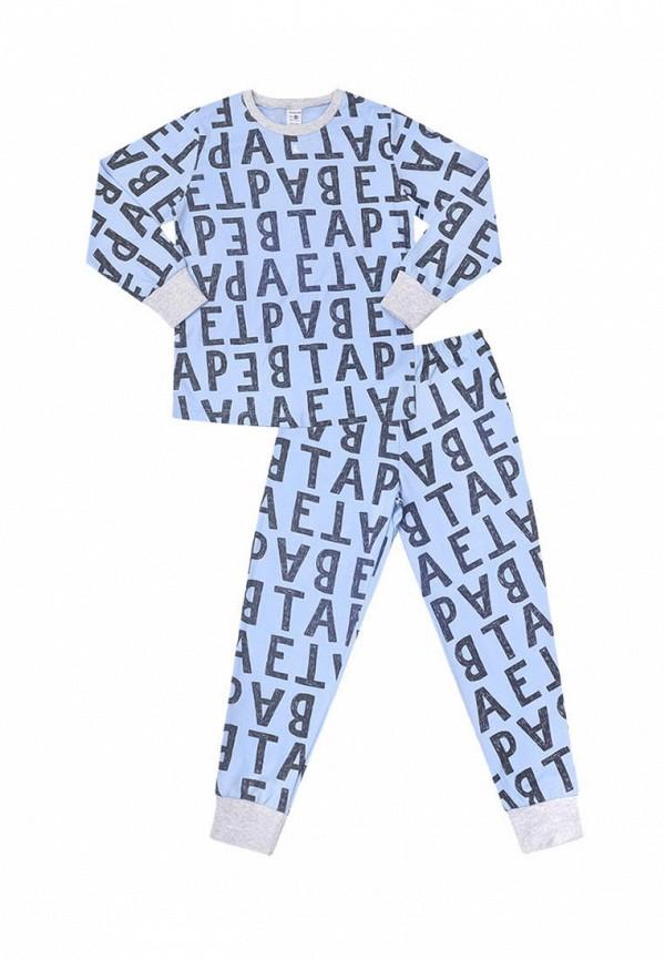 пижама crockid для мальчика, голубая