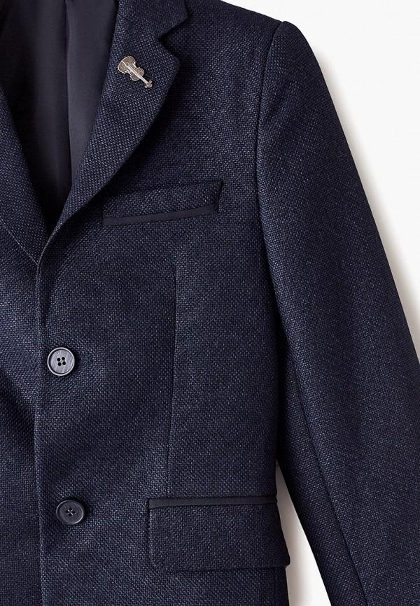 Пиджак для мальчика MiLi цвет синий  Фото 3