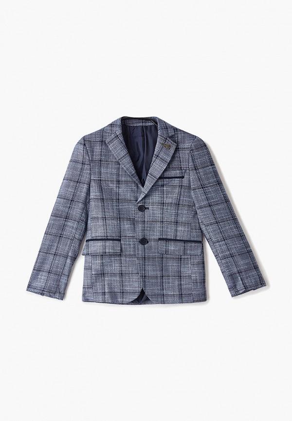 пиджак mili для мальчика, голубой