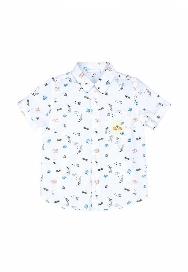 рубашка coccodrillo для мальчика, белая