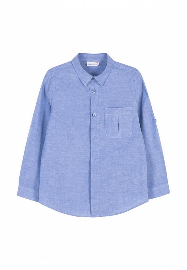 рубашка coccodrillo для мальчика, синяя