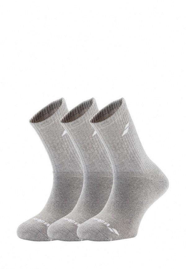 носки babolat для мальчика, серые