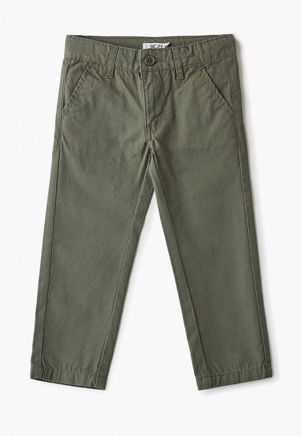 брюки incity для мальчика, хаки