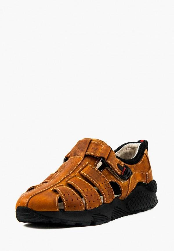 сандалии mida для мальчика, коричневые