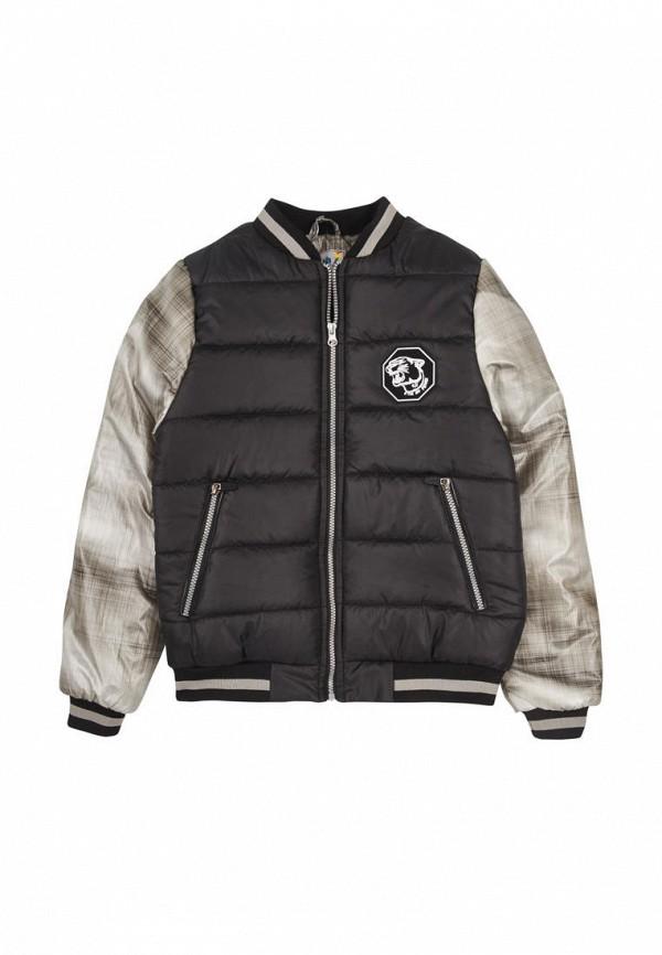куртка dana-kids для мальчика, черная