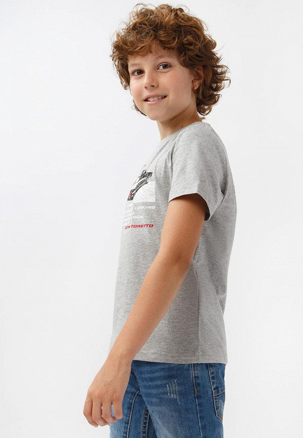 Футболка для мальчика Finn Flare цвет серый  Фото 5