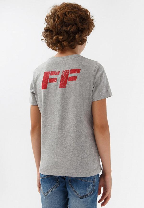 Футболка для мальчика Finn Flare цвет серый  Фото 3