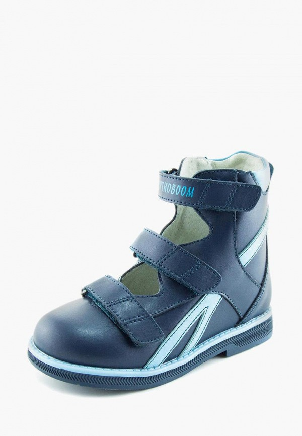 Ботинки для мальчика Orthoboom цвет синий  Фото 2