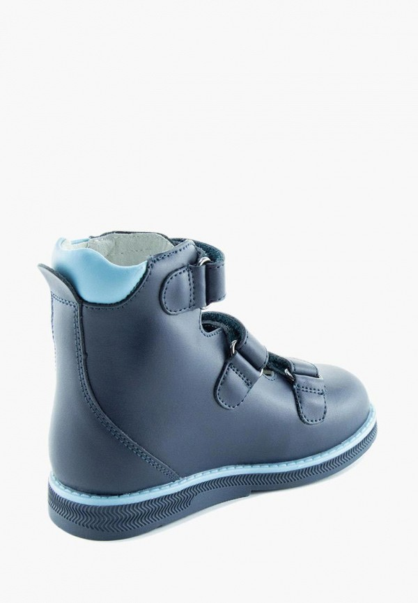 Ботинки для мальчика Orthoboom цвет синий  Фото 3