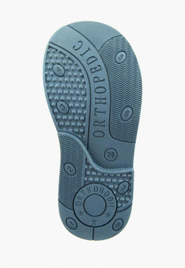 Ботинки для мальчика Orthoboom цвет синий  Фото 5
