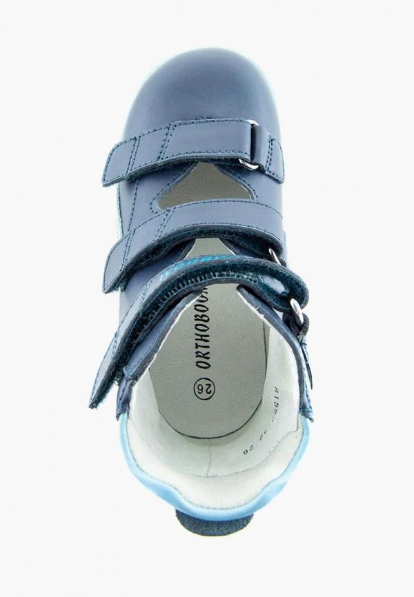 Ботинки для мальчика Orthoboom цвет синий  Фото 4