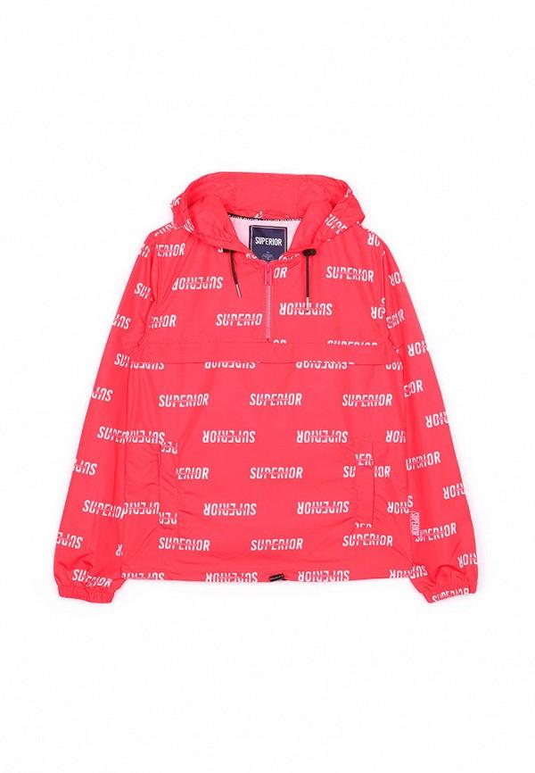 куртка le temps des cerises для мальчика, красная
