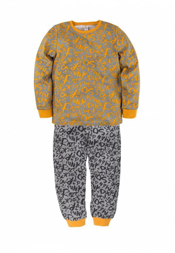 пижама bossa nova для мальчика, серая