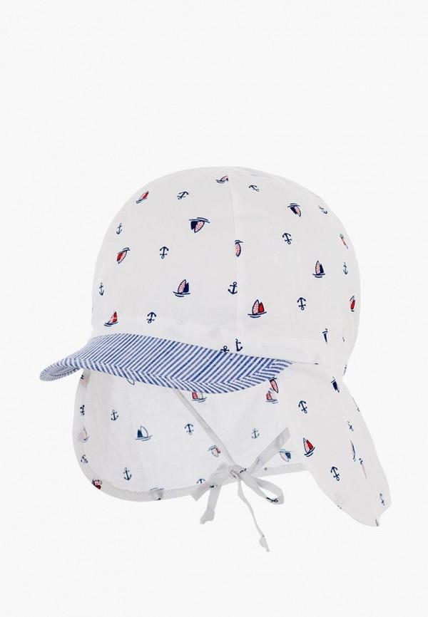 кепка чудо-кроха для мальчика, белая
