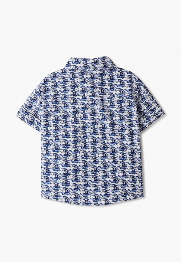 Рубашка для мальчика DanMaralex цвет синий  Фото 2