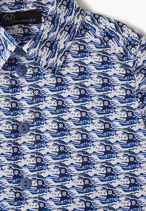 Рубашка для мальчика DanMaralex цвет синий  Фото 3