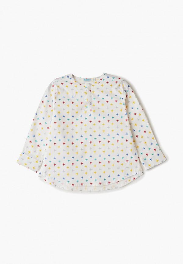 Рубашка для мальчика Bubble's Magic цвет белый
