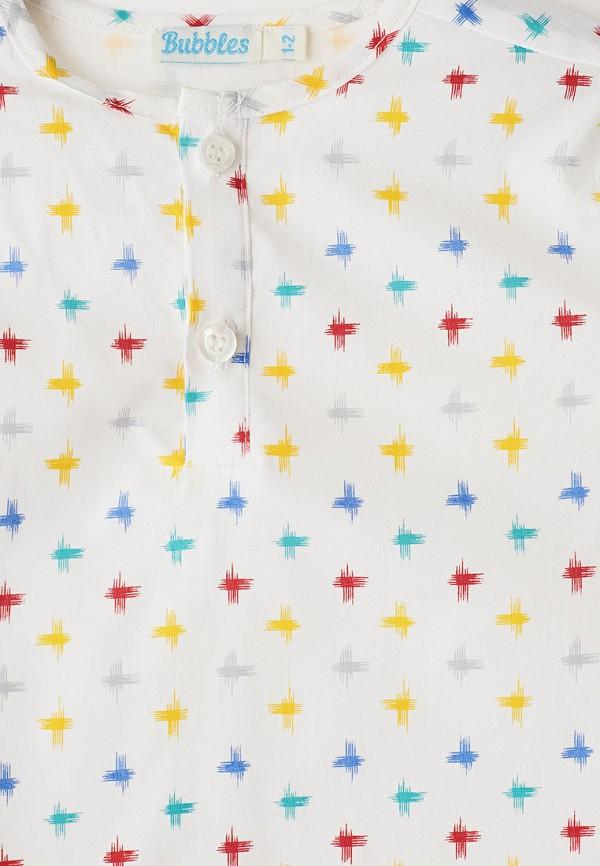 Рубашка для мальчика Bubble's Magic цвет белый  Фото 3