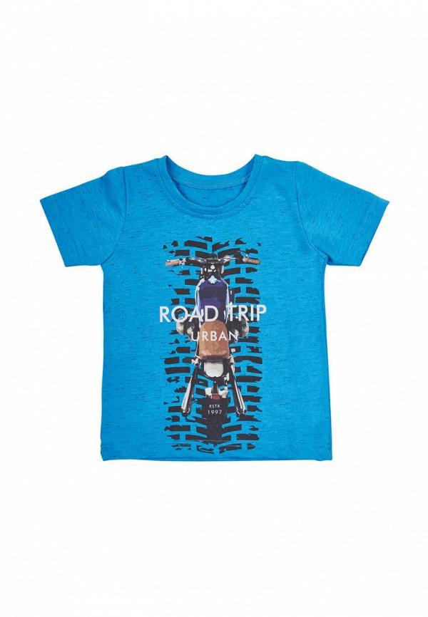футболка с коротким рукавом вітуся для мальчика, синяя