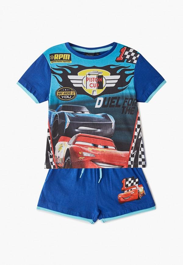 пижама disney для мальчика, синяя