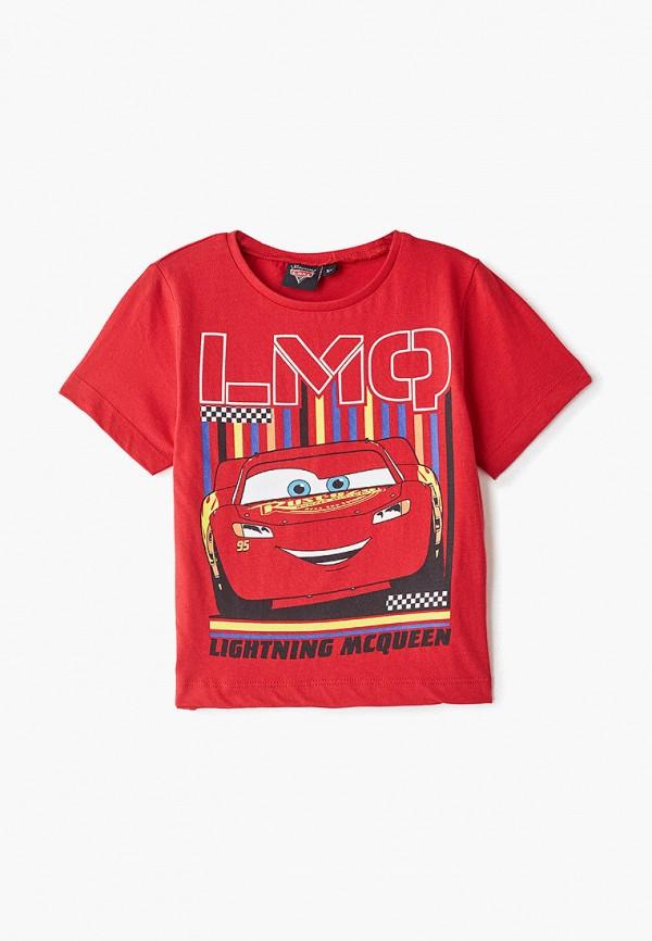 футболка disney для мальчика, красная