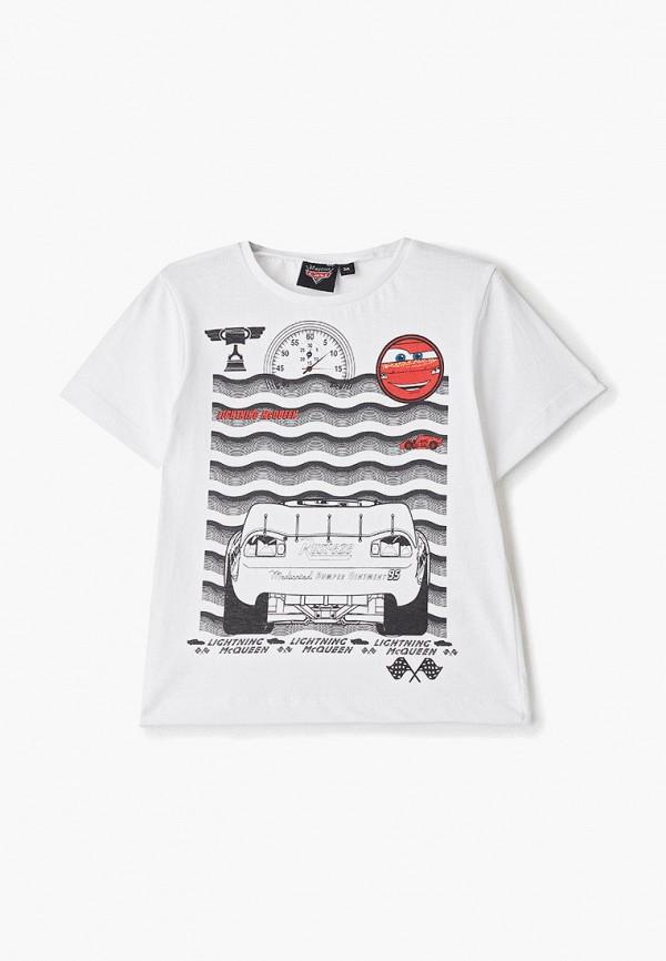 футболка disney для мальчика, белая