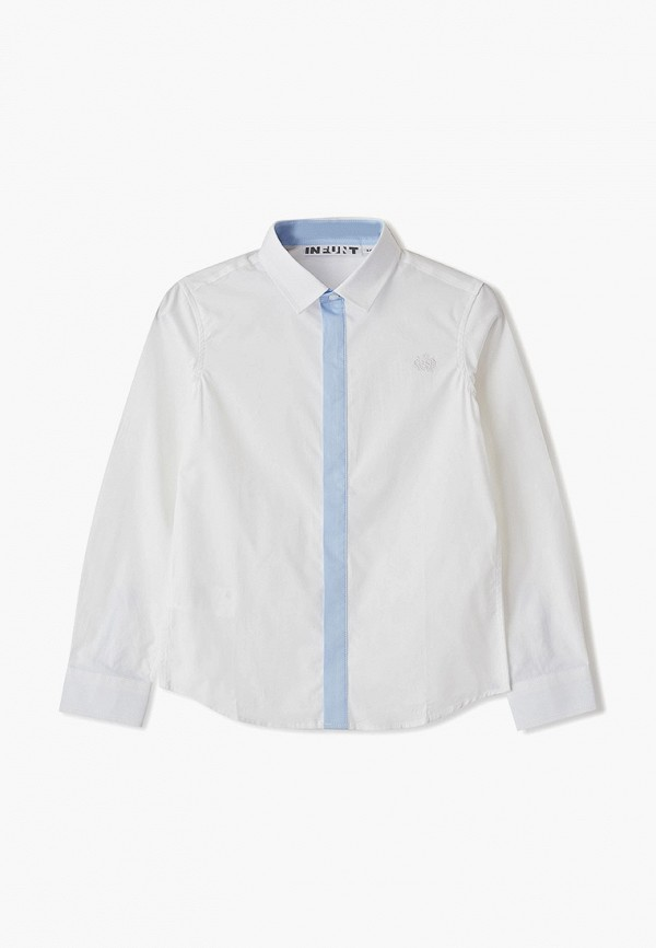 рубашка infunt для мальчика, белая