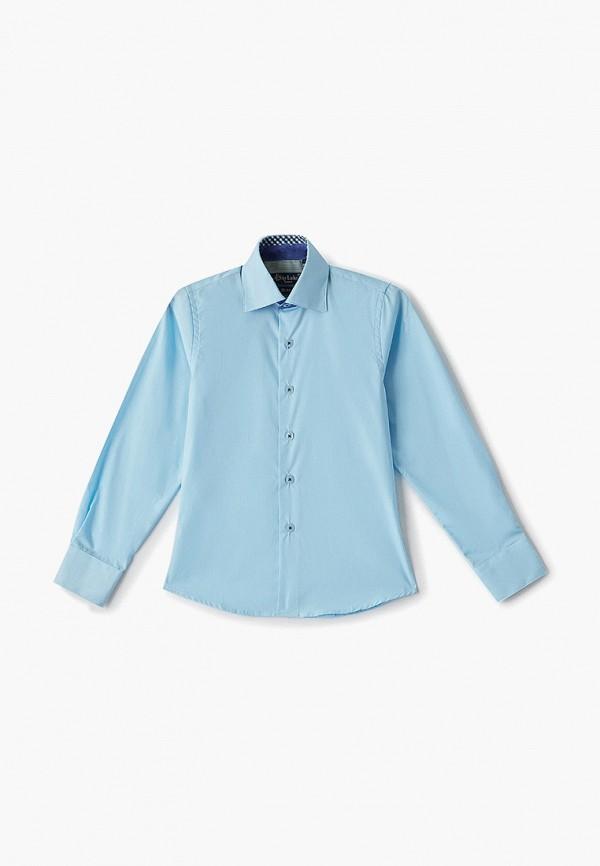 рубашка sky lake для мальчика, голубая