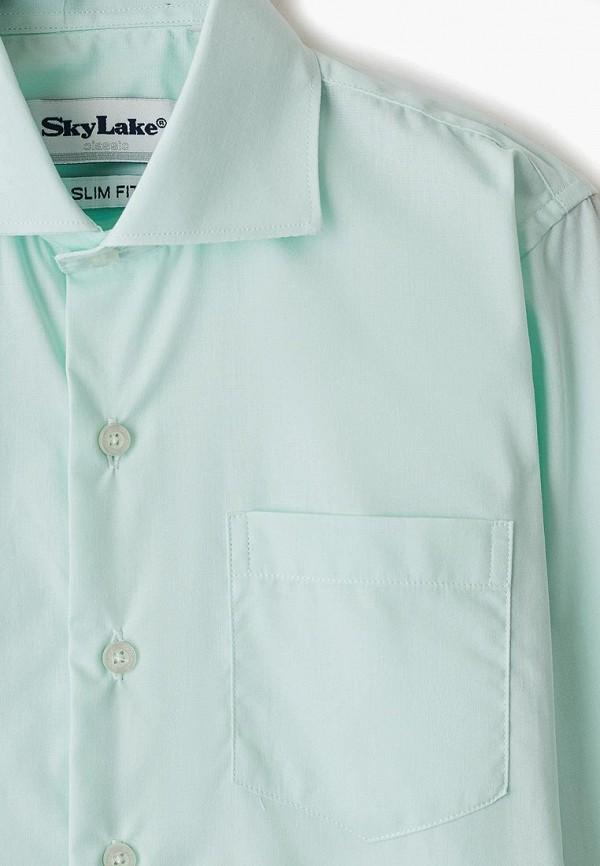 Рубашка для мальчика Sky Lake цвет зеленый  Фото 3