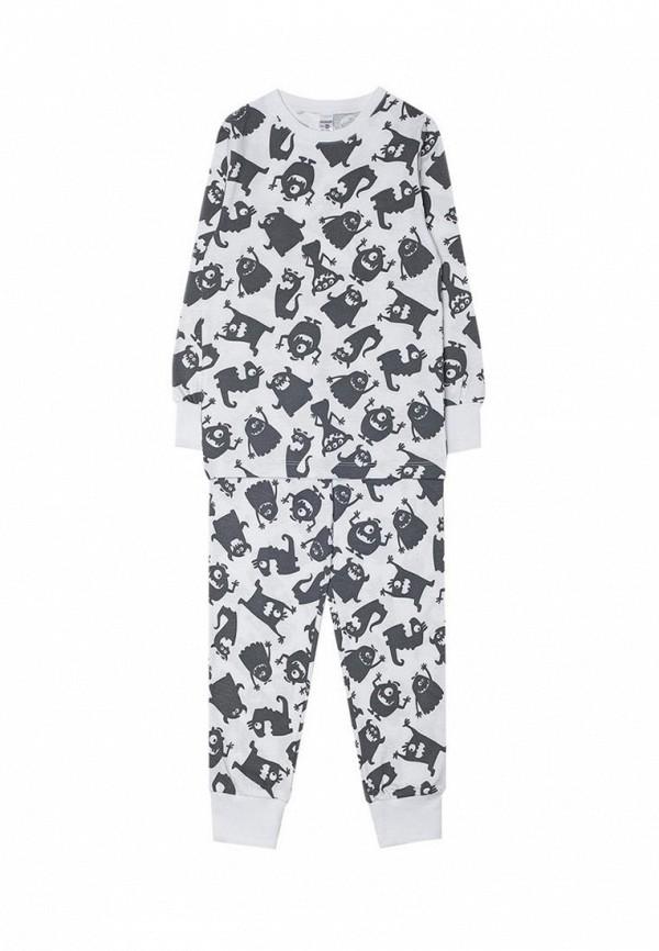 пижама crockid для мальчика, белая
