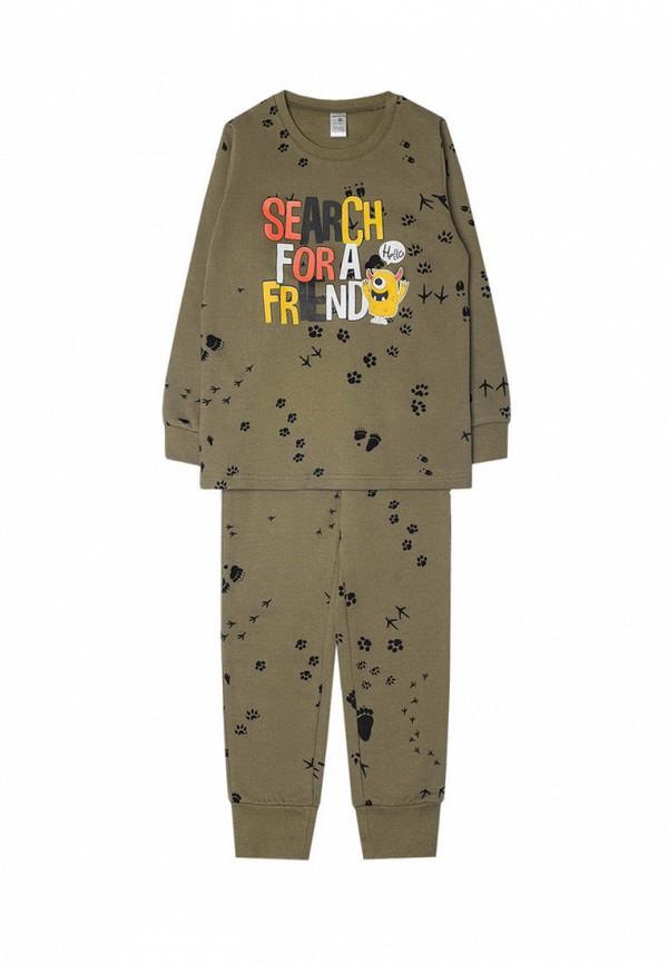 пижама crockid для мальчика, хаки