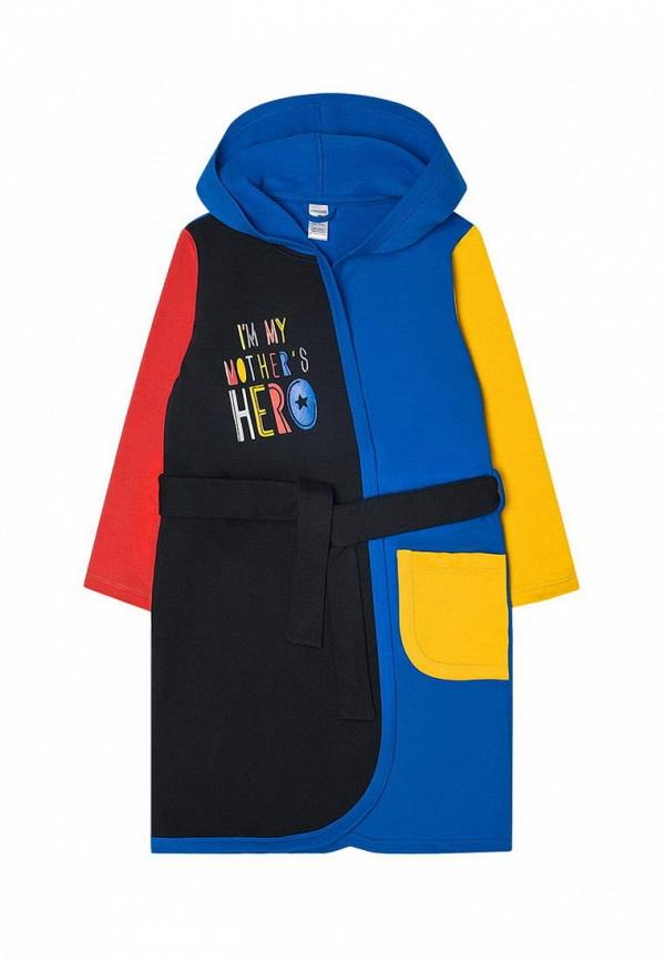 халат crockid для мальчика, синий