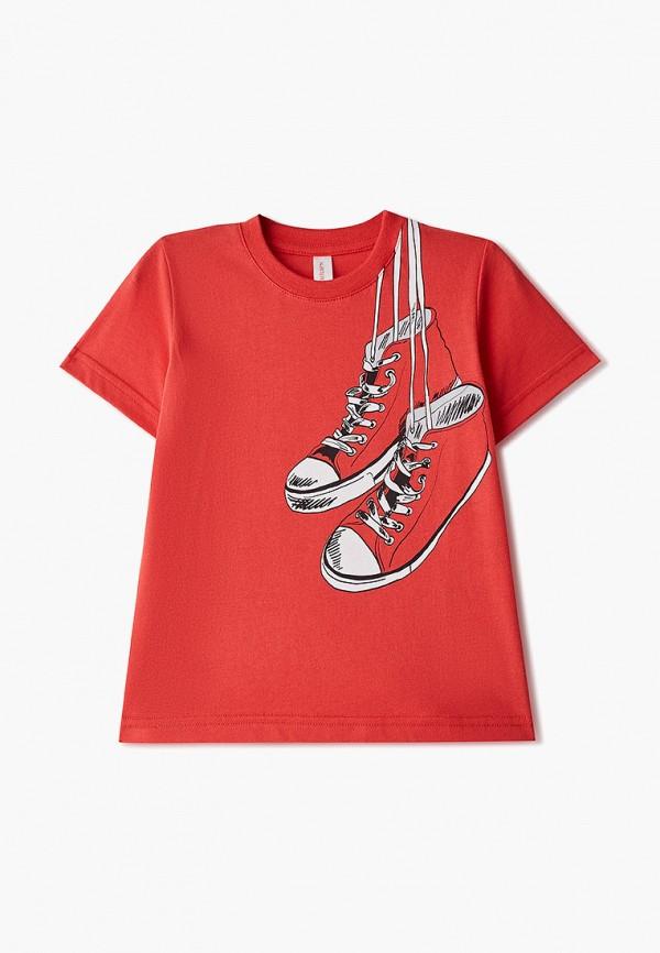 футболка наше для мальчика, красная
