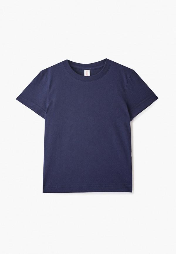 футболка наше для мальчика, синяя
