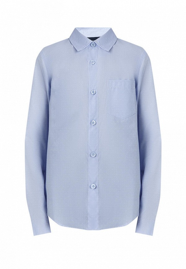 рубашка finn flare для мальчика, голубая