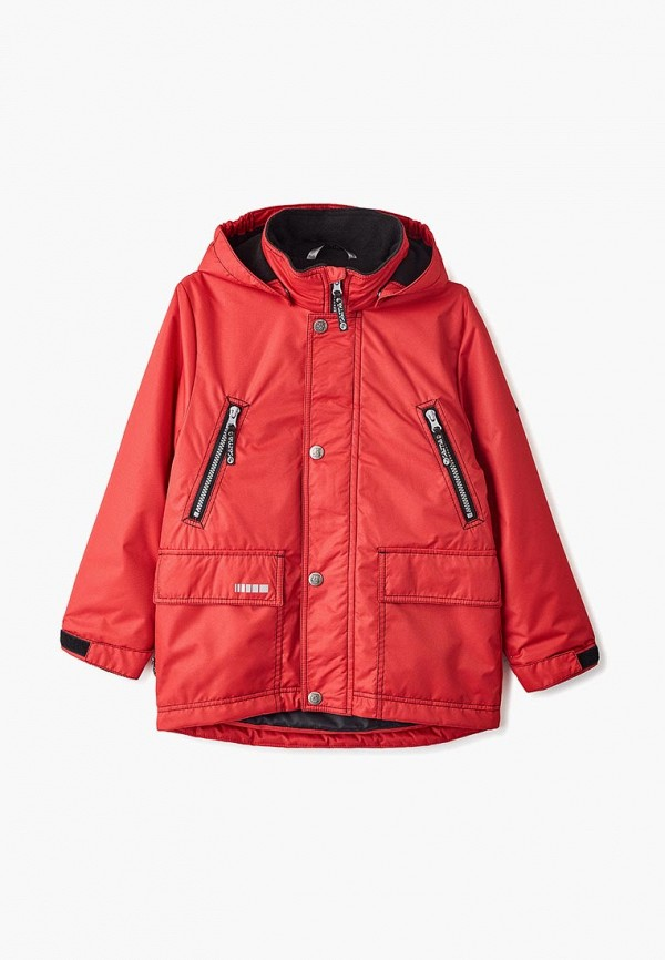 Фото - Куртку утепленная Saima красного цвета