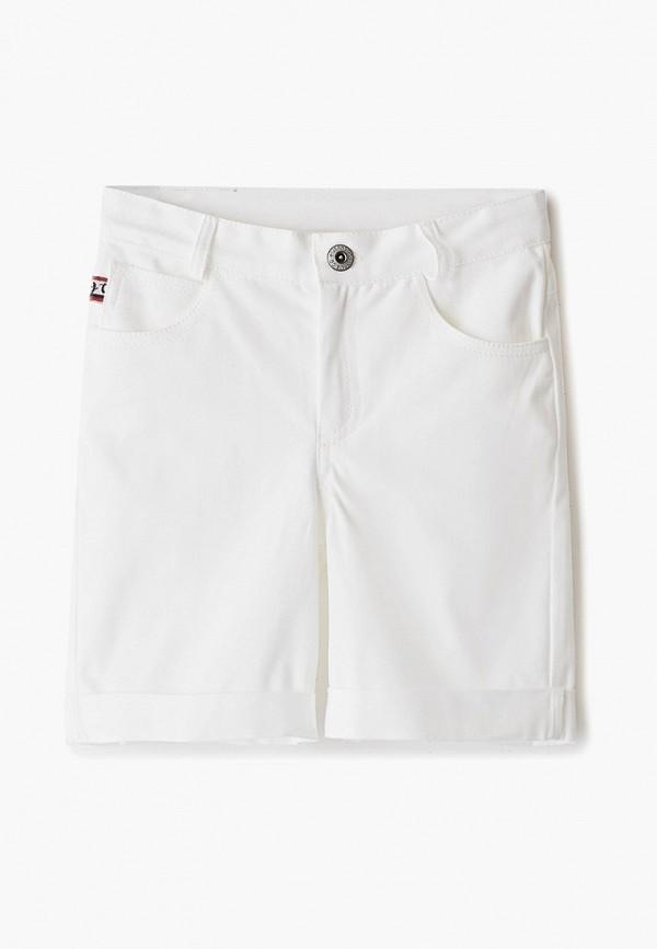 шорты lucky child для мальчика, белые