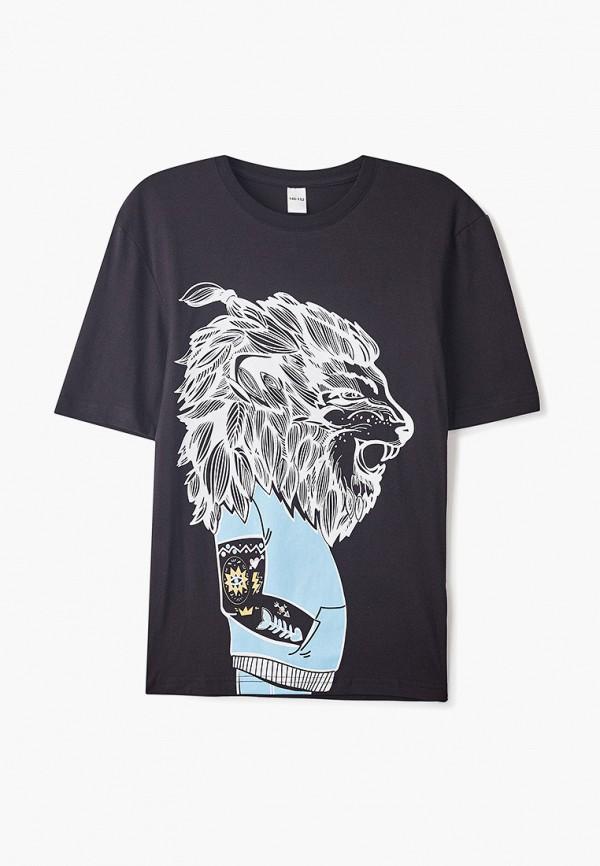 футболка наше для мальчика, черная