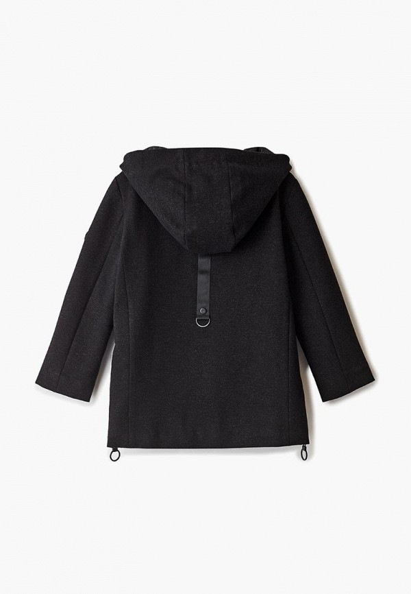 куртка mes ami для мальчика, черная