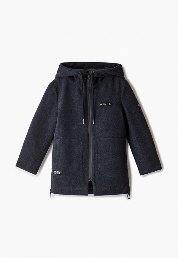 куртка mes ami для мальчика, серая