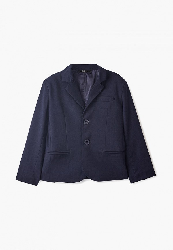 пиджак danmaralex для мальчика, синий