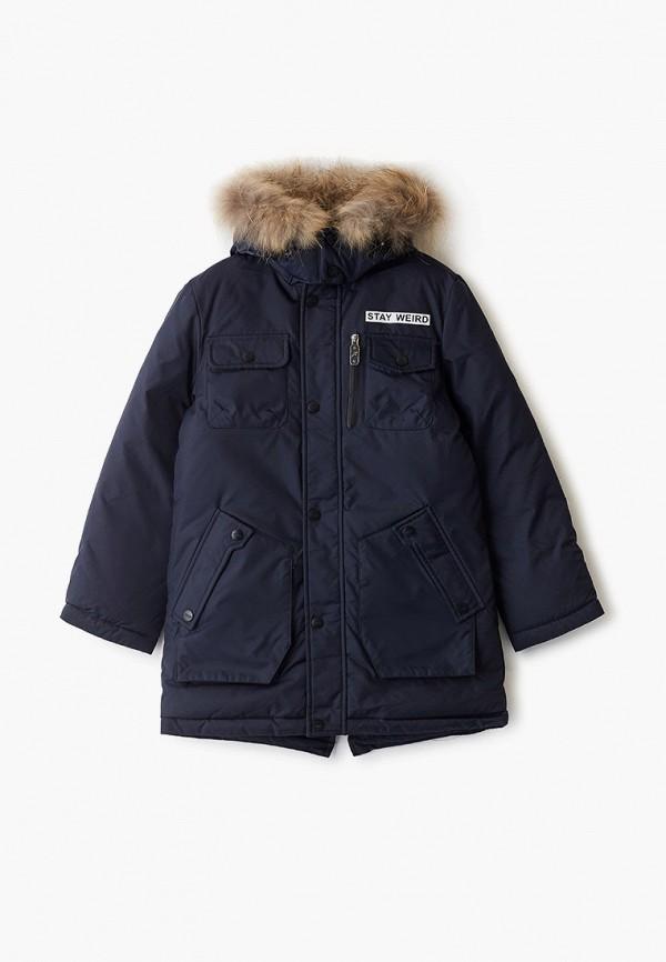 Купить Куртку утепленная Fobs синего цвета