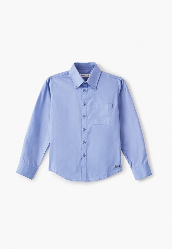 рубашка pinetti для мальчика, синяя