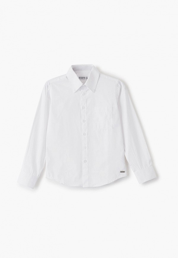 рубашка pinetti для мальчика, белая