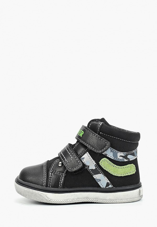 Фото - Ботинки Biker черного цвета