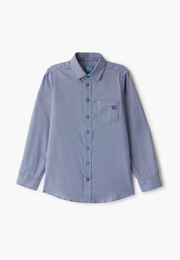 рубашка trenders для мальчика, синяя