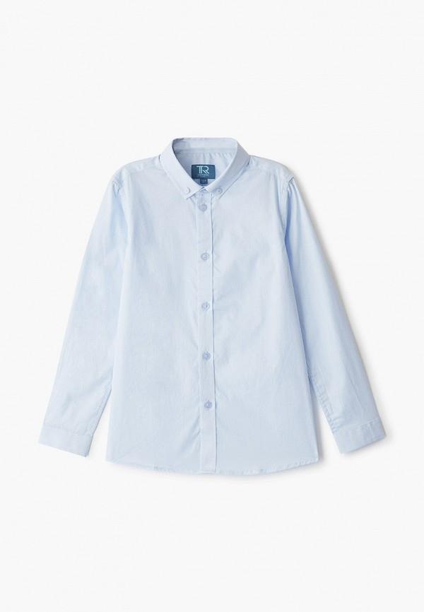 рубашка trenders для мальчика, голубая